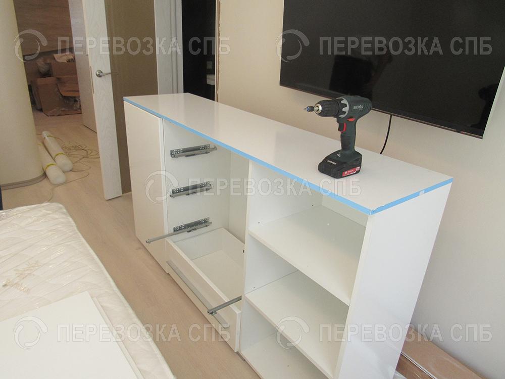 сборка мебели спб