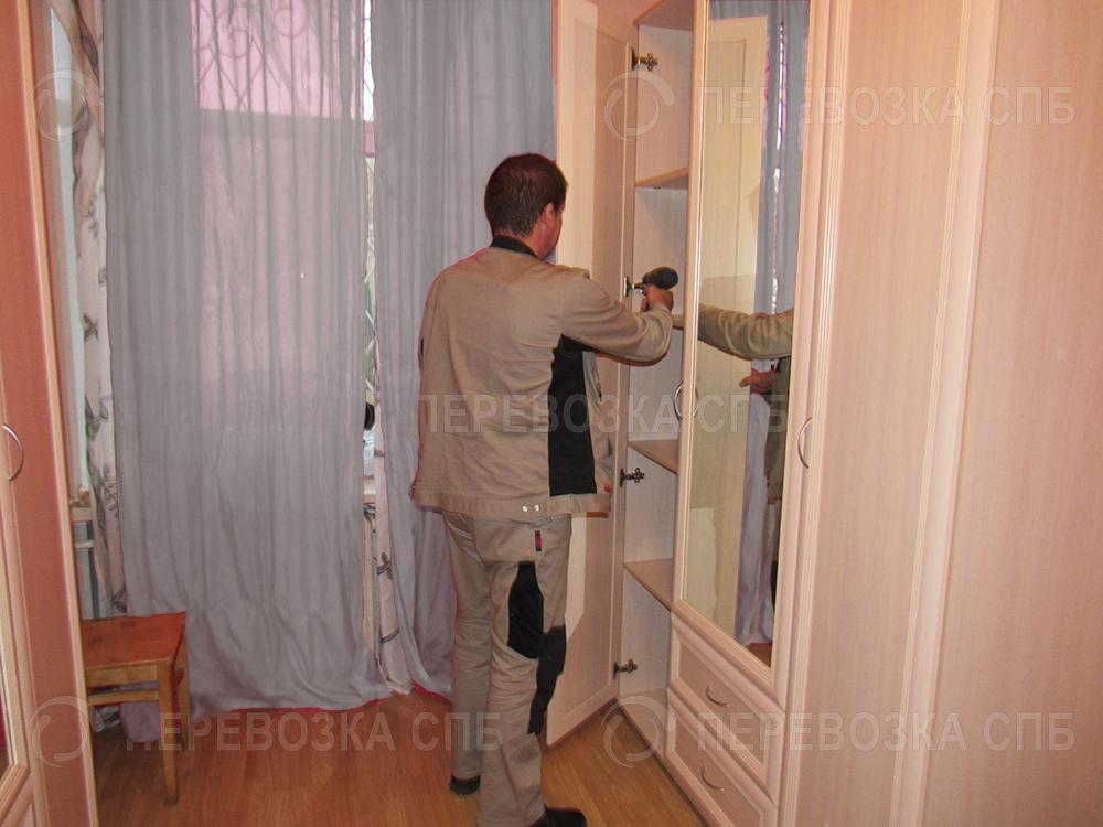 перевозка шкафа с грузчиками